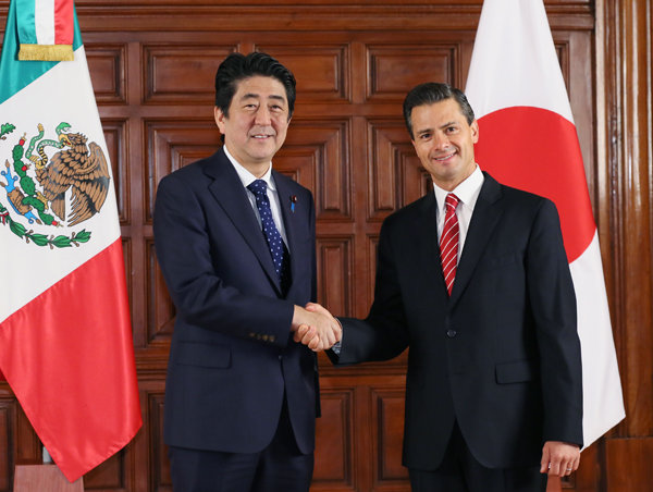 First Day of the Prime Minister's Visit to Mexico (The Prime ...