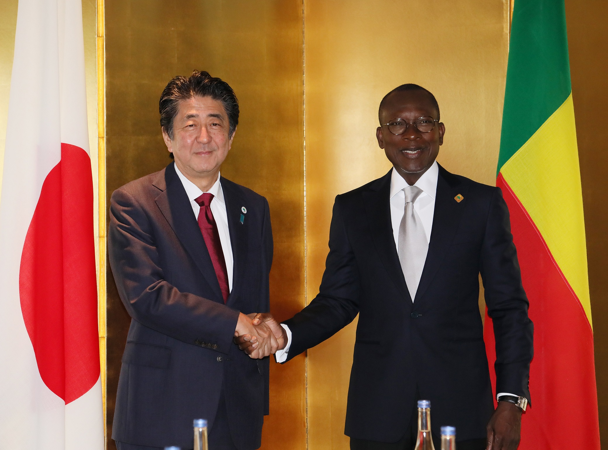 Photograph of the Japan-Benin Summit Meeting