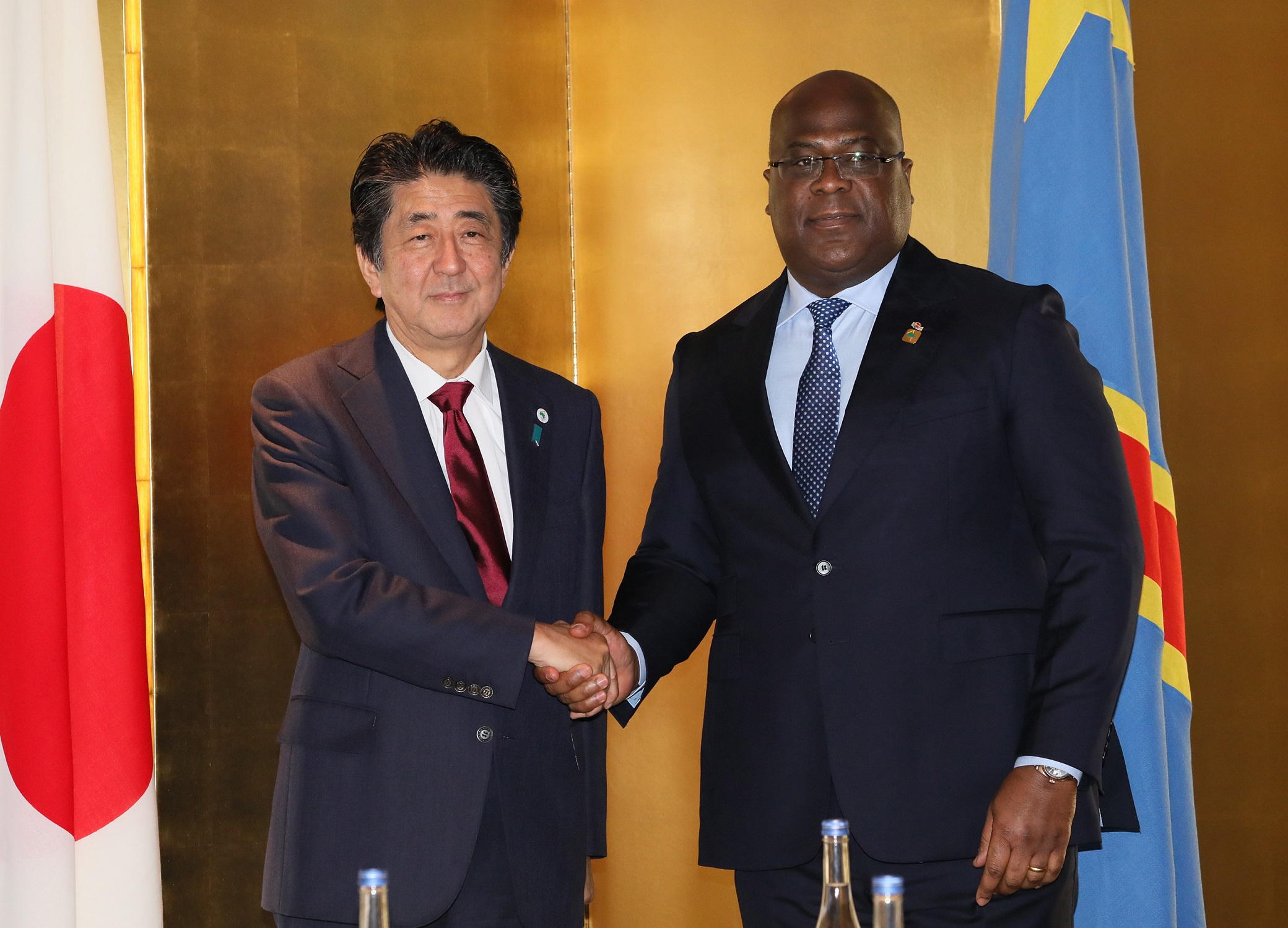 Photograph of the Japan-Democratic Republic of the Congo Summit Meeting