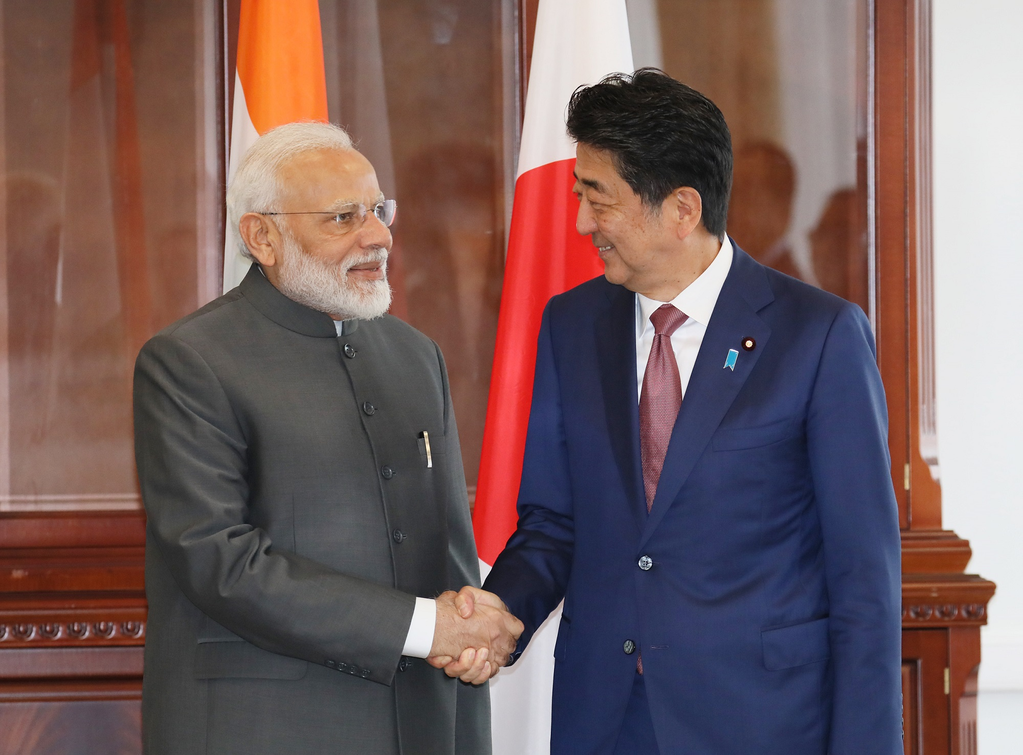 Photograph of the Japan-India Summit Meeting (2)