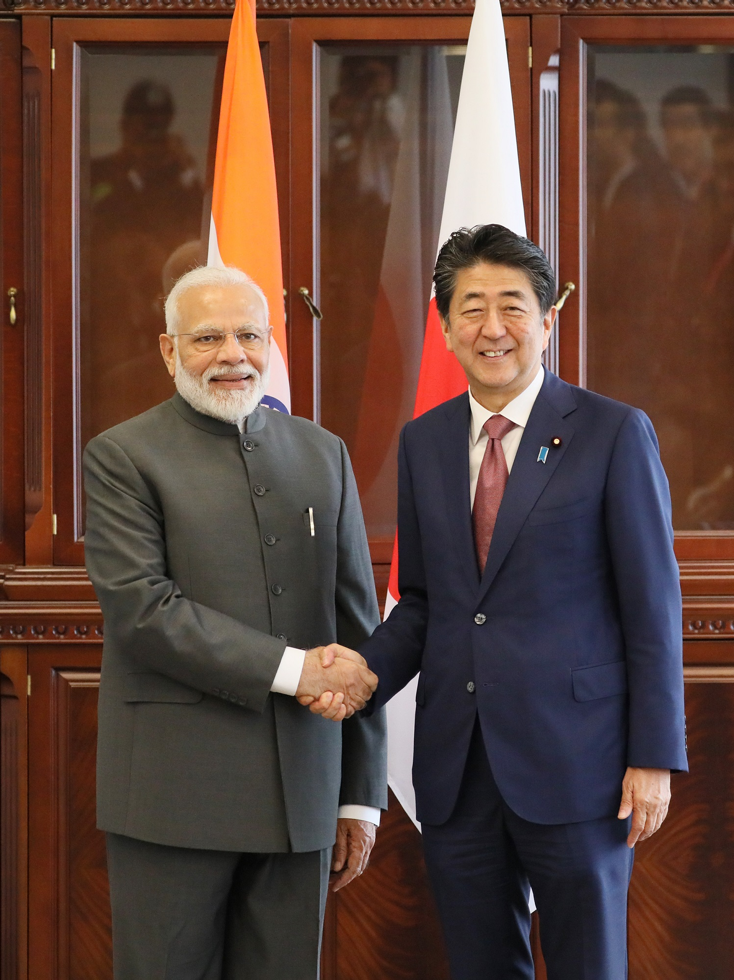 Photograph of the Japan-India Summit Meeting (3)