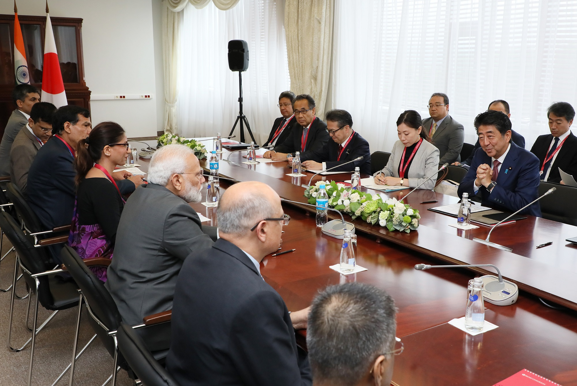 Photograph of the Japan-India Summit Meeting (5)