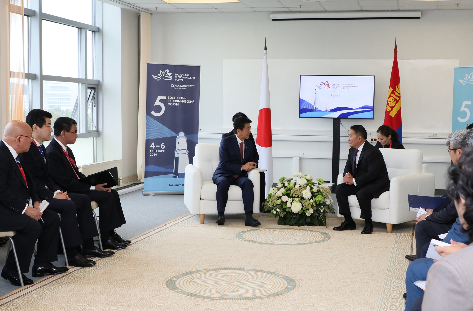 Photograph of the Japan-Mongolia Summit Meeting (3)