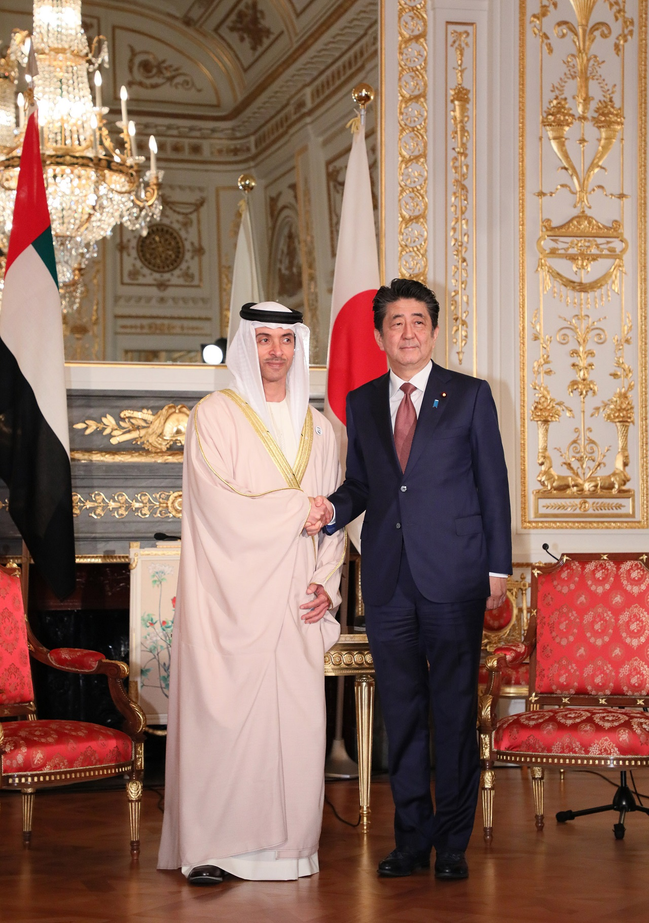 Photograph of the meeting with the Vice Chairman of the Abu Dhabi Executive Council (2)
