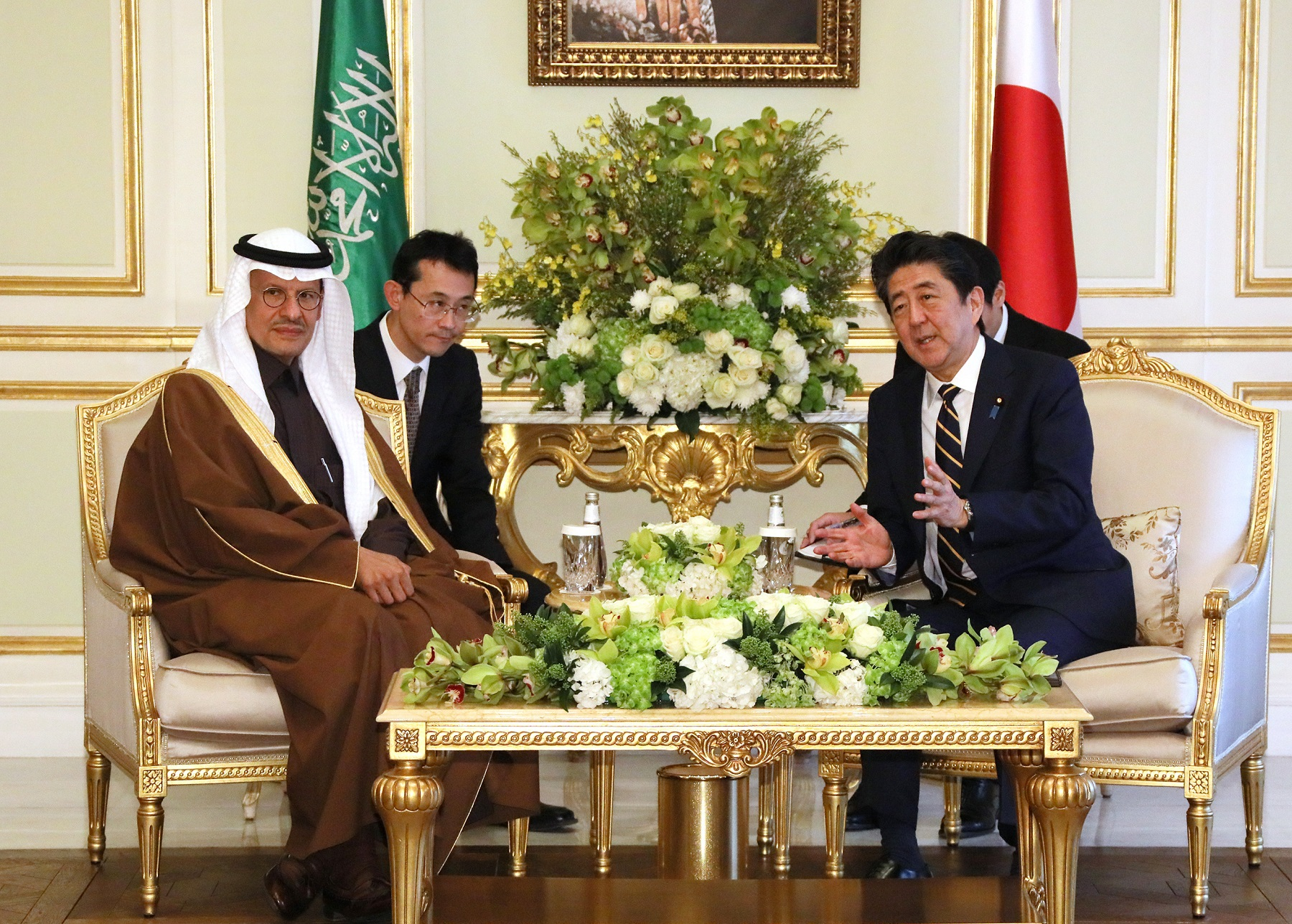 Photograph of the courtesy call from the Minister of Energy of Saudi Arabia (4)