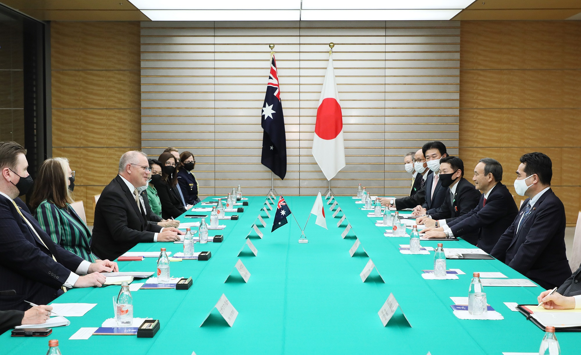 Photograph of the Japan-Australia Summit Meeting (2)