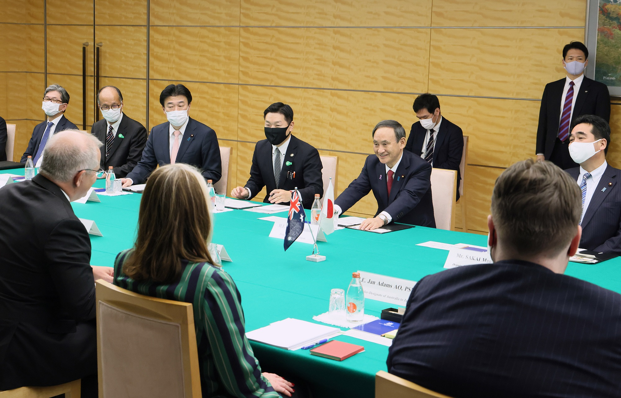 Photograph of the Japan-Australia Summit Meeting (3)