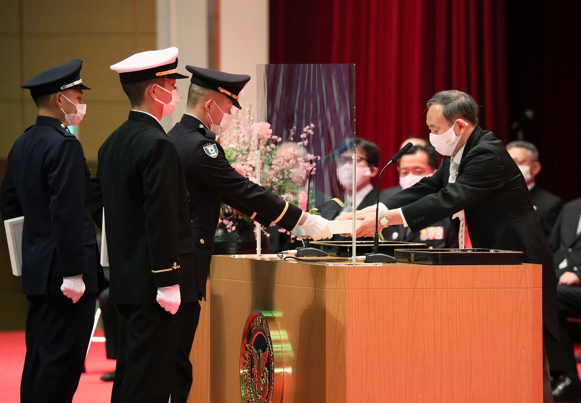 Photograph of the assignment and oath of service ceremony (2)