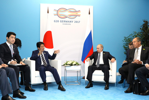 Photograph of the Japan-Russia Summit Meeting (2)