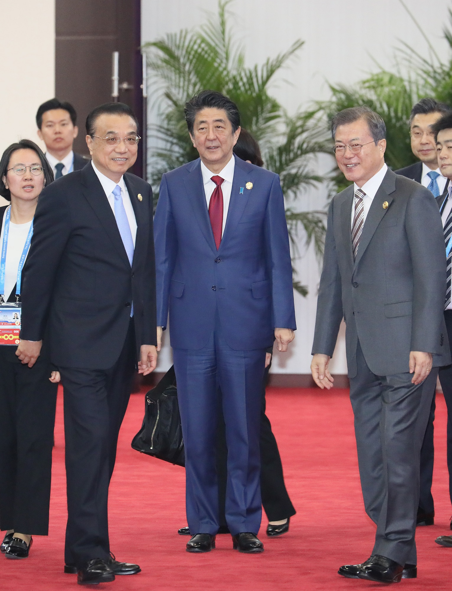 Photograph of the Japan-China-ROK Business Summit (1)