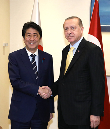 Photograph of the Japan-Turkey Summit Meeting (2)