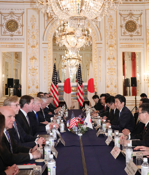 Photograph of the Japan-U.S. Summit Meeting (2)