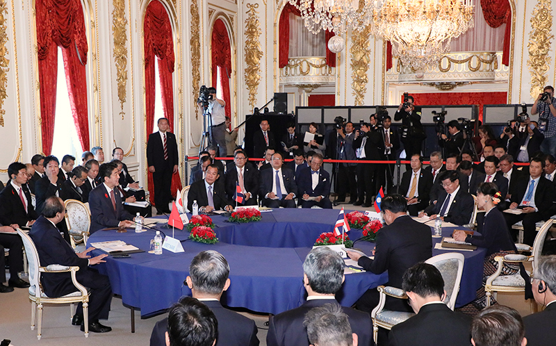 Photograph of the Tenth Mekong-Japan Summit Meeting