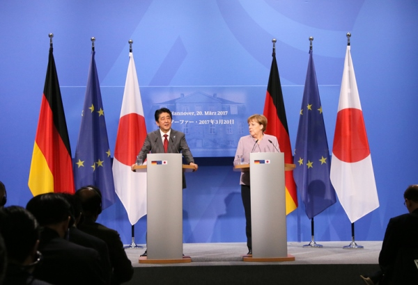 Photograph of the Japan-Germany joint press conference (2)